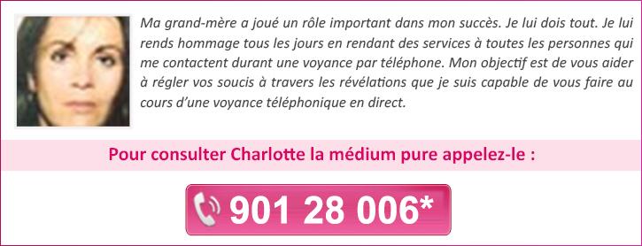 1a8aa461c699a2 Charlotte   Medium pure par téléphone. voyante pour une voyance gratuite